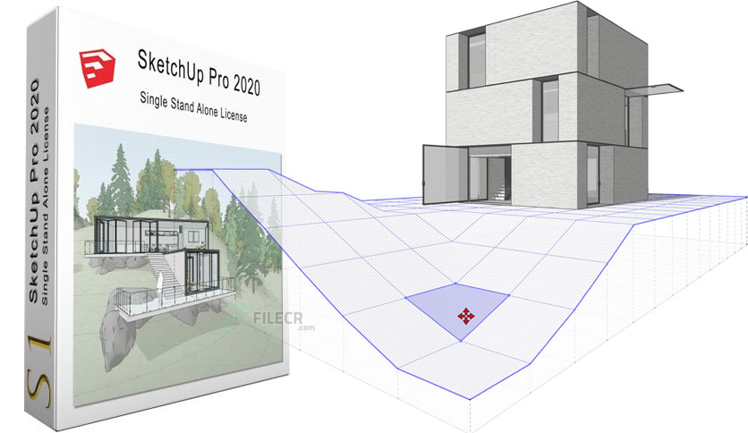 SketchUp Pro 2020 Crack + License Key (Latest) Free Download