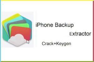 iPhone Backup Extractor 7.7.19 Crack + Keygen {Latest} Free Download