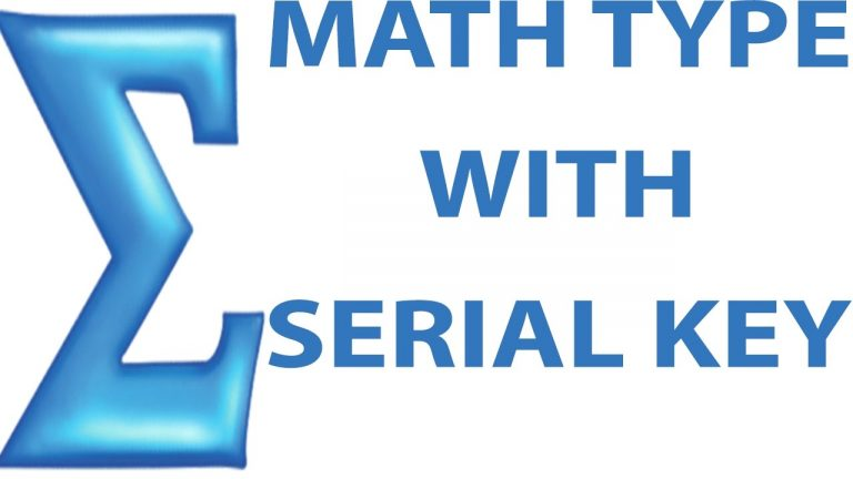 MathType 7.4.4 Crack + Keygen (Latest Version) Free Download 2020