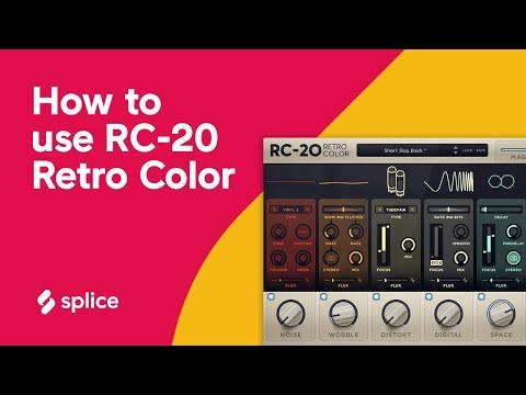 RC 20 Retro Color Crack + Torrent (Latest) Free Download 2020