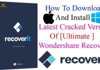 Wondershare Recoverit 8.7.2.29 Crack + Torrent (Mac/Win) Free Download
