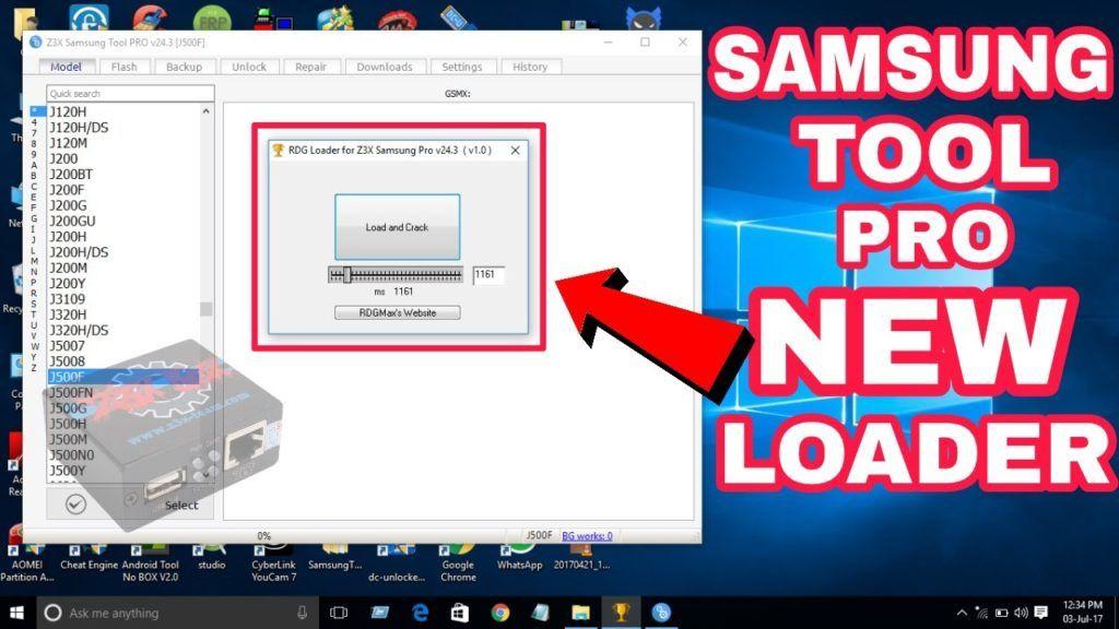 z3x Samsung Tool Pro 40.2 Crack Loader Without Box Setup Free Download