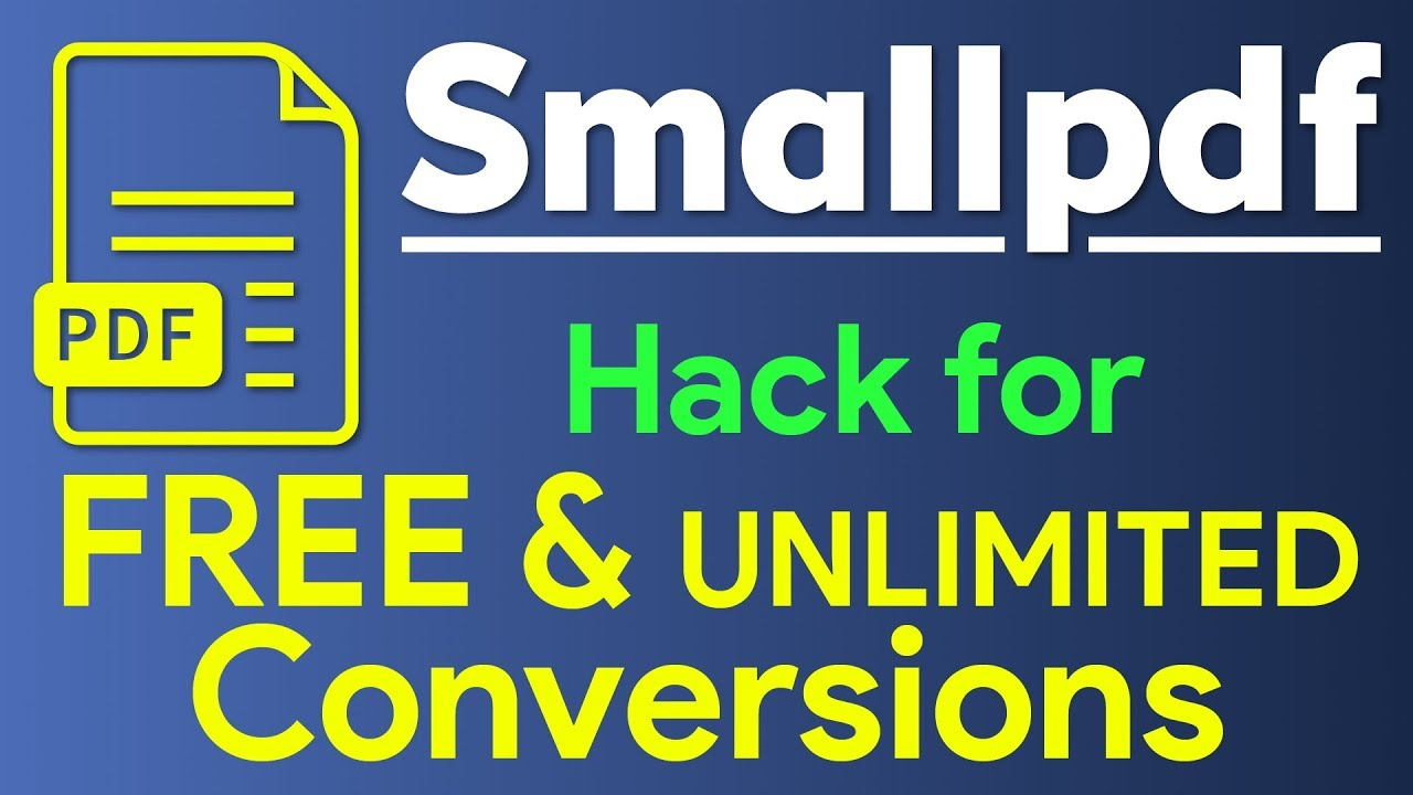 Smallpdf 1.24.0 Crack Full - Windows (2020) Free Download