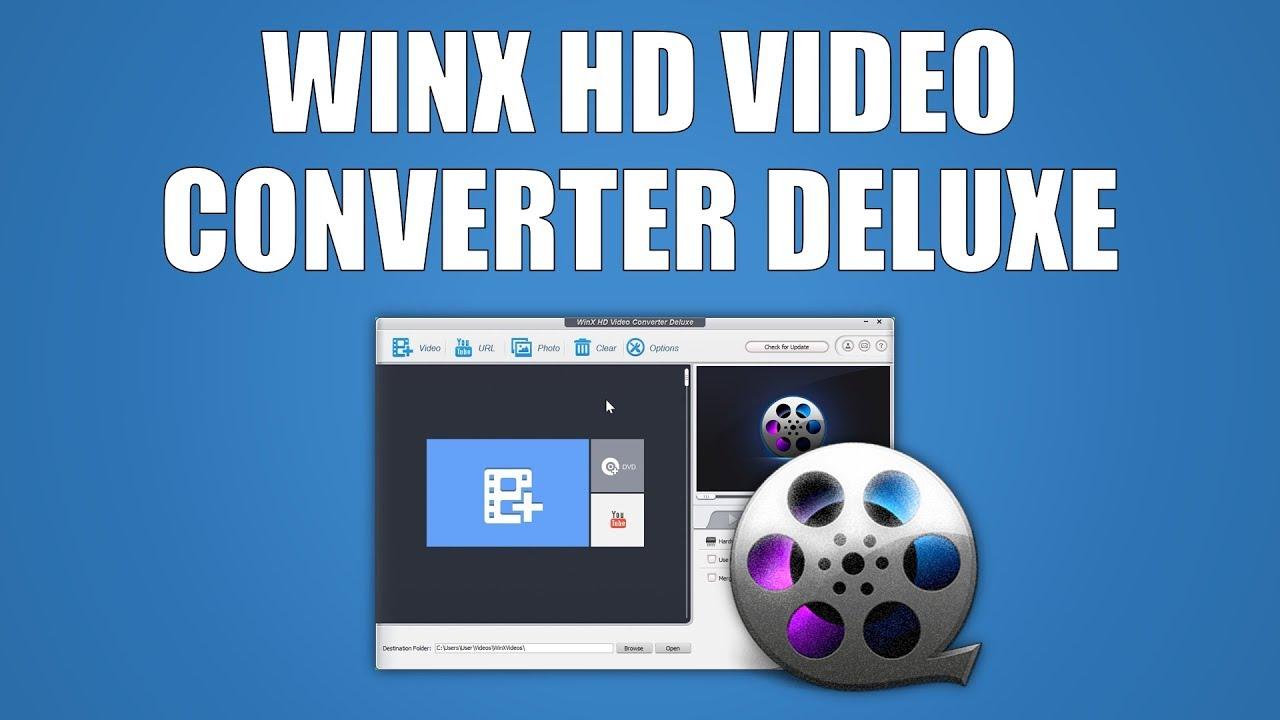 WinX HD Video Converter Deluxe 5.16.0.331 Crack [2020] Keygen Free Download