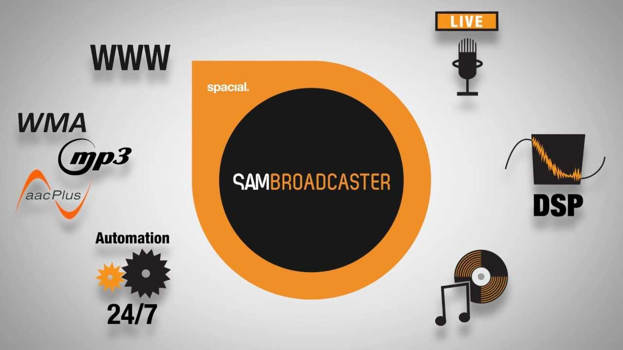 SAM Broadcaster Pro 2020.6 Crack & Serial Key (2020) Free Download