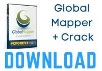 Global Mapper 22.0 Crack + License Key {2021} Free Download