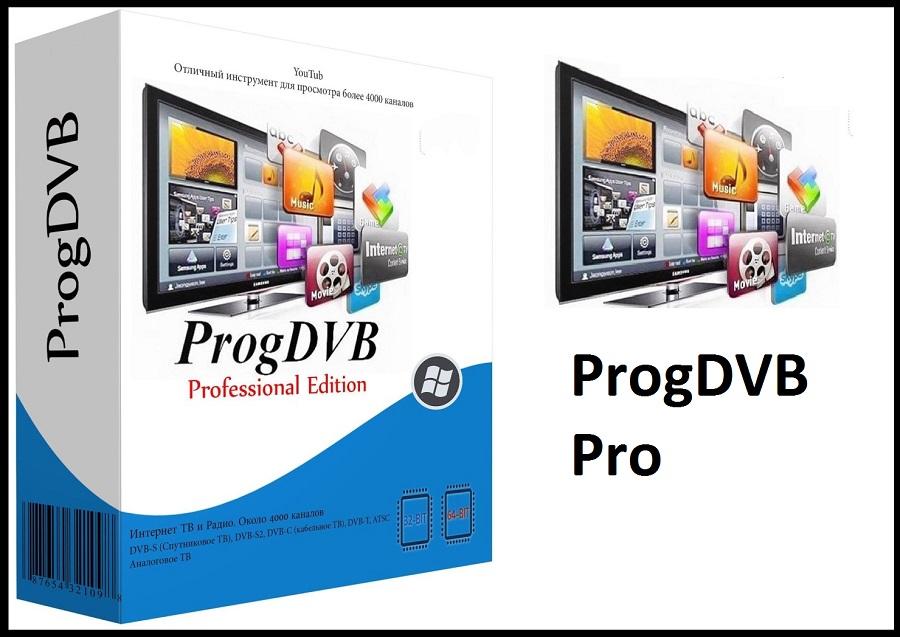 ProgDVB 7.40.1 Crack + License Key [2021] Free Download